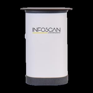 balie/koffer voor roll-ups Infoscan