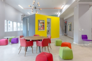 ruimte kleur meubels